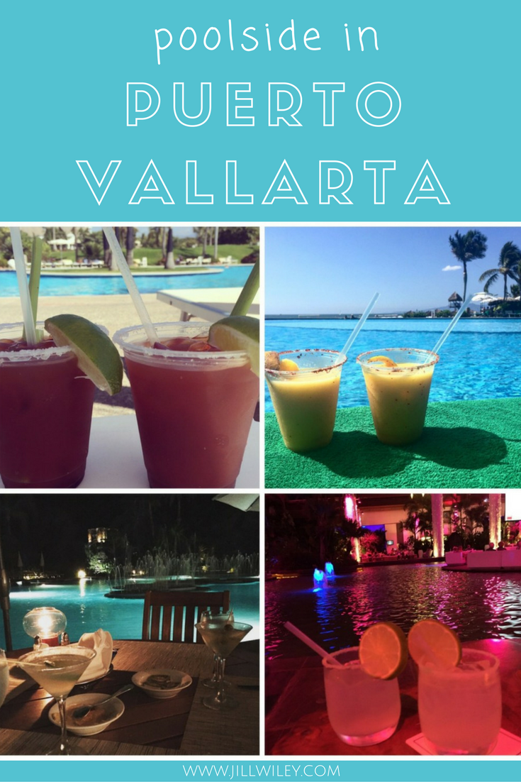 drinks at the beach pool vallarata
