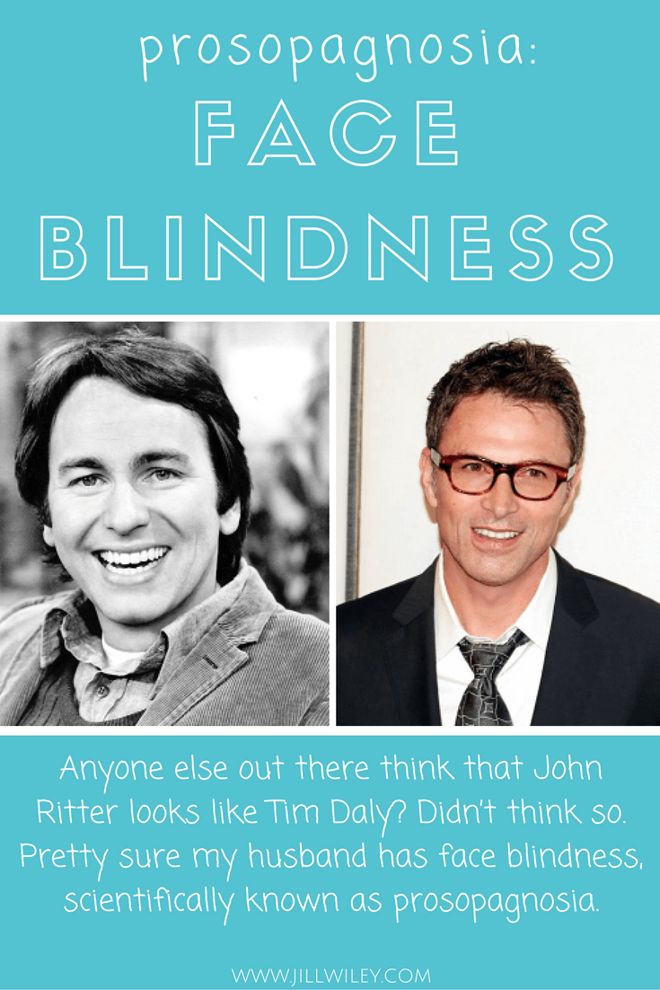prosopagnosia tim daly face blindness