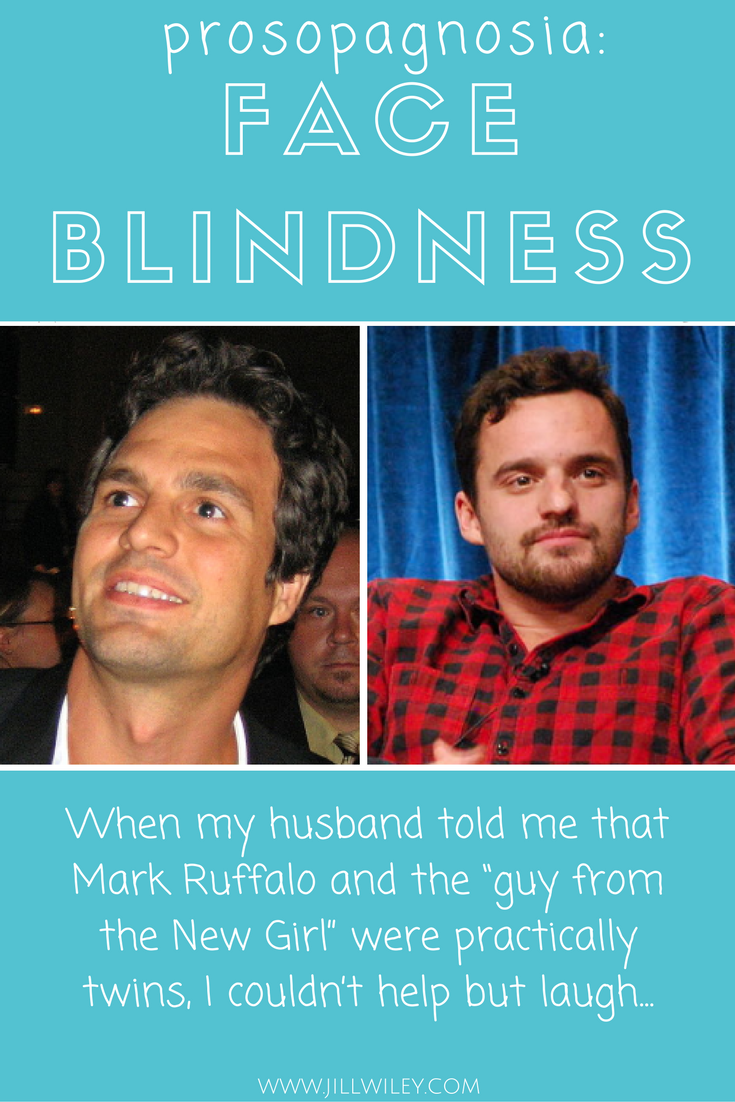 mark buffalo face blindness