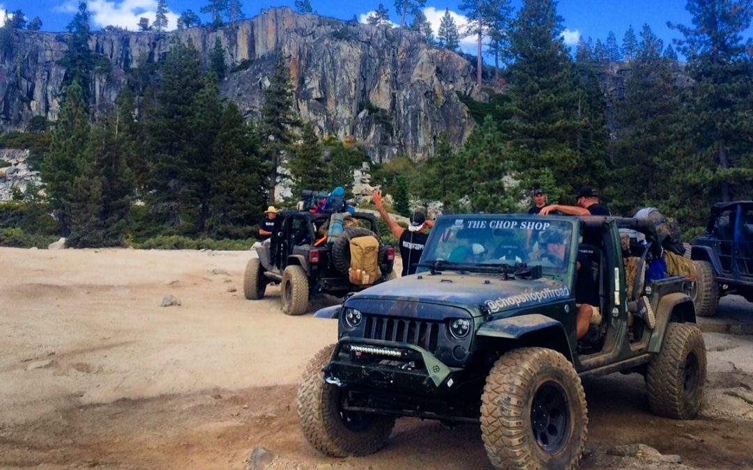 Rubicon Trail Off Road Jeep Trip