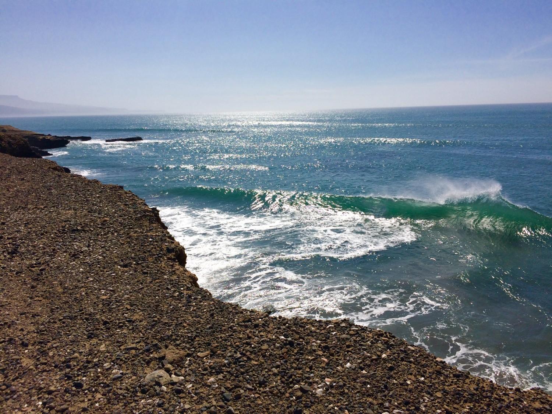 coastline punta san carlos