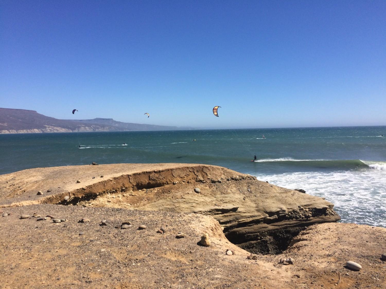 kitesurfing kiting punta san carlos