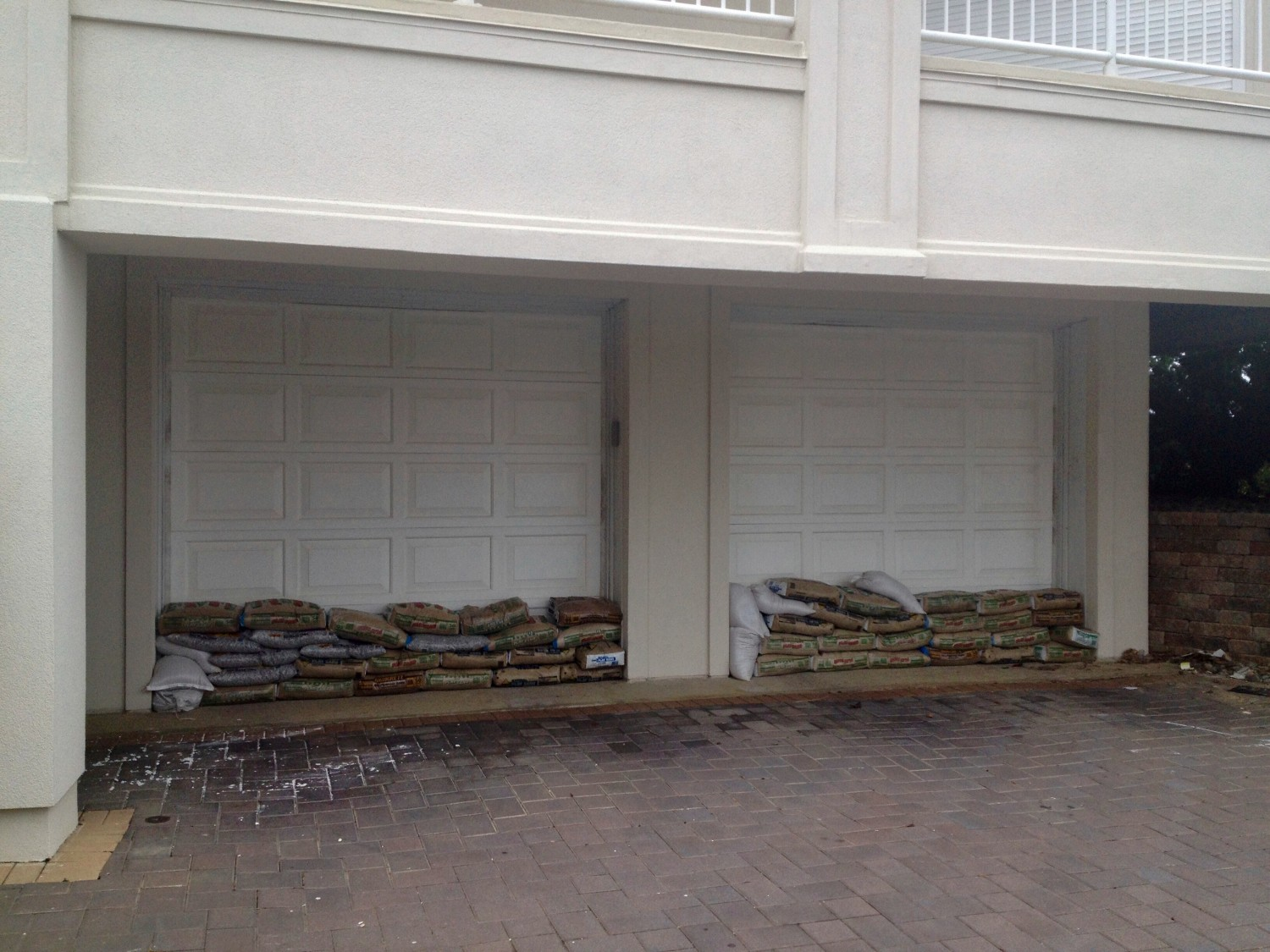 sandbags hurricane sandy
