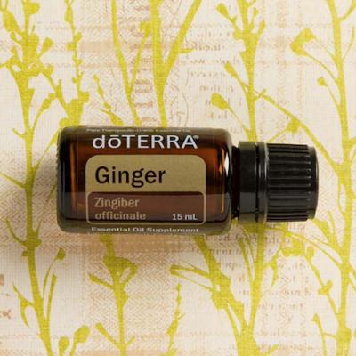 ginger essential oil doterra jillwiley