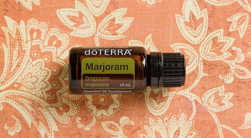 marjoram essential oil doterra jilllwiley