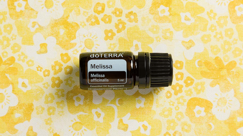 melissa essential oil doterra jillwiley