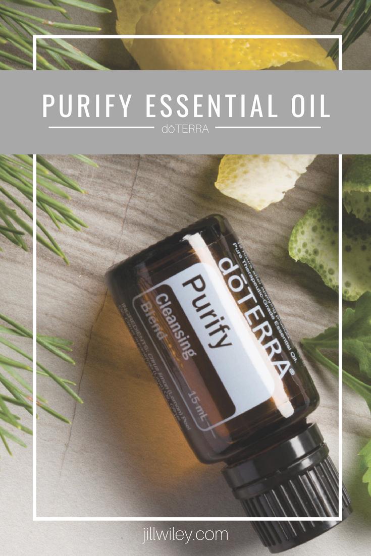 purify essential oil jillwiley doterra
