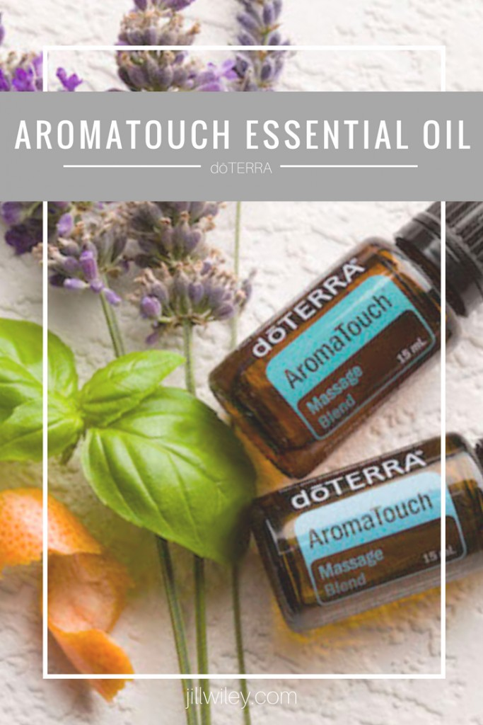 aromatouch essential oil doterra massage blend