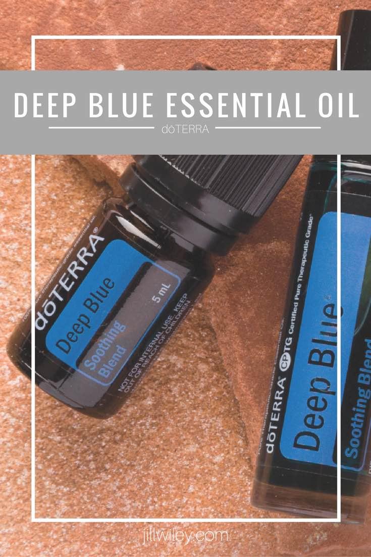deep blue essential oil jillwiley