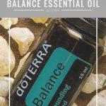 balance essential oil jillwiley doterra
