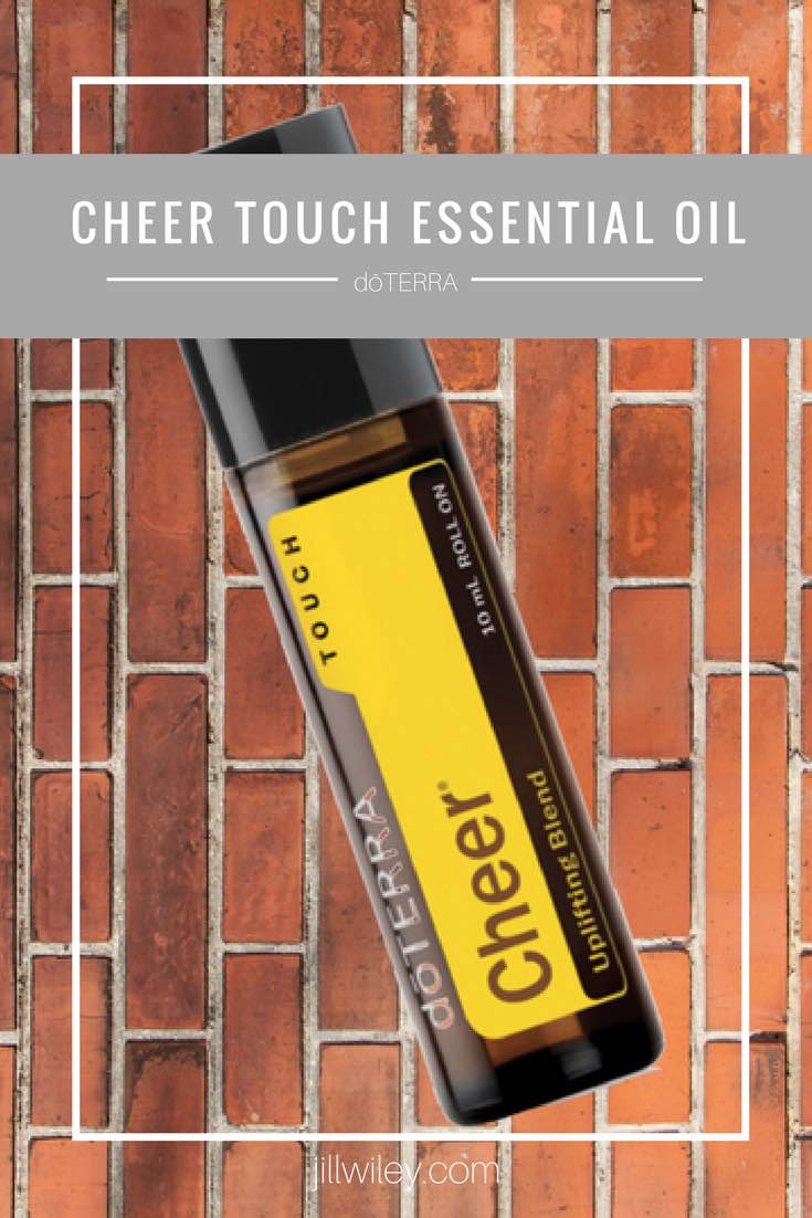 cheer touch roller essential oil jillwiley