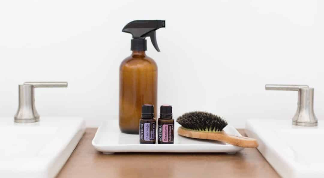 Heat Protectant Spray: dōTERRA DIY